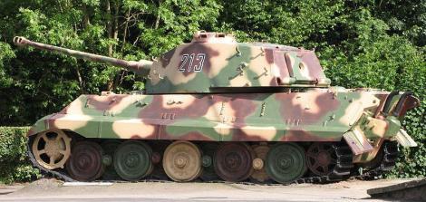 King Tiger at La Gleize.