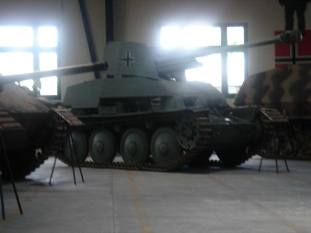 Marder III at the Musée des Blindés - Tank Museum - France.