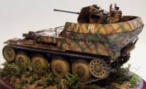 Flakpanzer 38(t) model.