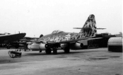 Messerschmitt Me 262.