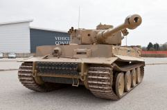 Another angle on the Bovington Tiger.