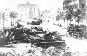 Brandenburg Gate May 10, 1945