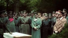 Field Marshall Gerd von Rundstedt with Himmler, and Hitler.