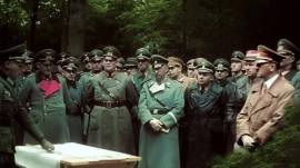 Field Marshall Gerd von Rundstedt with Himmler, and Hitler.