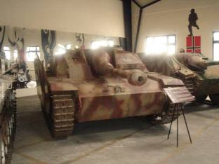 StuG 3 at the Musée des Blindés - Tank Museum - France.