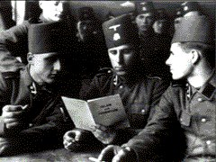 SS Handzar Division-formed from Bosnian Muslims.