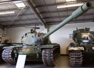 An M103A2 at the Bovington Tank Museum - England