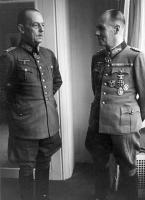 With Rommel.