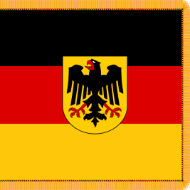 1964– Present Troop colour (Truppenfahne) of the Bundeswehr.