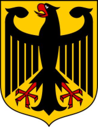 Modern German Coat of Arms.