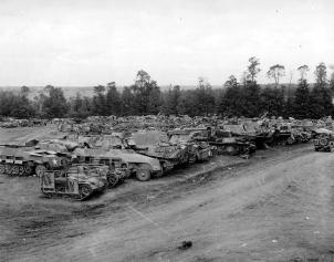 Graveyard 1945.
