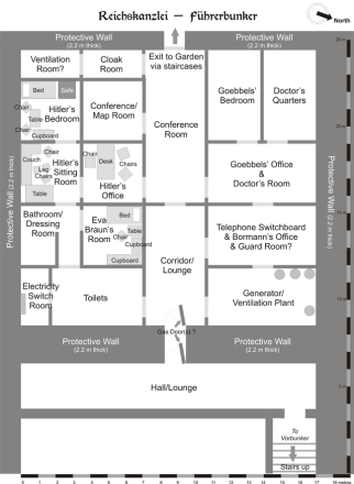 Map of the Bunker