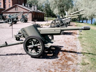 Pak 97/38 displayed in Hämeenlinna Artillery Museum, Finland.