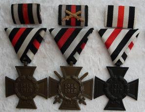 1914-1918 Medal given in 1933 to all veterans for serving in WW1.