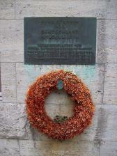 Benderblock Memorial for the Officers in the Coup Attempt. The place where they were executed after the failed attempt.