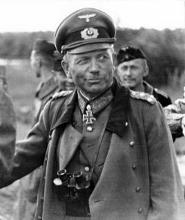 Heinz Guderian on the Eastern Front - July 1941.