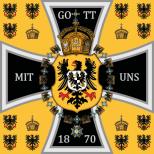 1871–1888 German Emperor's Standard.