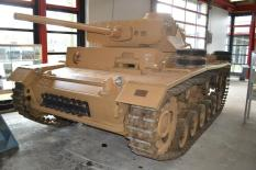 Panzer III at the Deutsches Panzermuseum - German Tank Museum.