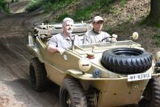 Schwimmwagen at the Militracks Overloon 2012 - Oorlogsmuseum Overloon, Netherlands.