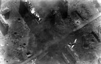 A German Ju 87 Stuka dive bomber pulls out of a dive. Stalingrad, Soviet Union. October 1942