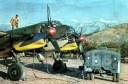 Ju 88 Refueling in Sicily.