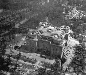 Tiergarten Flak tower, Berlin 1945.