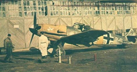 Messerschmitt Bf 109 of Max-Hellmuth Ostermann.