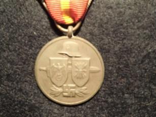 Blue Division Medal