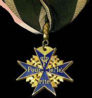 Pour le Mérite - Military class.