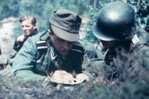 Heinrich Boigk prepping next actions.