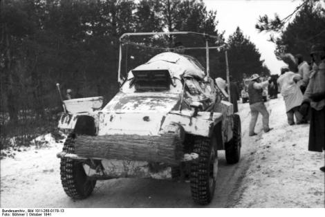 Sd.Kfz. 261 - light armored radio car.