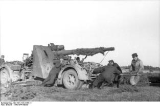 88 Being moved the hard way on the Eastern Front.