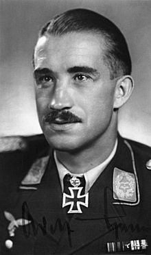 Adolf Galland.