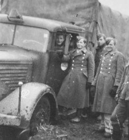Büssing-NAG type 500 S Luftwaffe, Eastern Front.