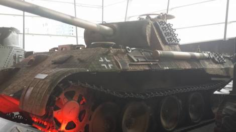 Panther at the Canadian War Museum, Ottawa, Canada.