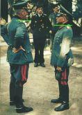Generalfeldmarschall Wilhelm Keitel (left) talking with Generaloberst Heinz Guderian.