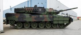 Currently, the Bundeswehr has over 225 main battle panzers.