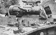 Destroyed a PzKpfw III of the 5. Panzer Division in 1940.