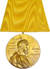 Front of the medal.