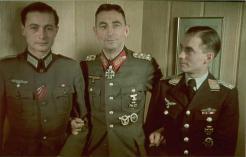 Generaloberst Eduard Dietl in the center.