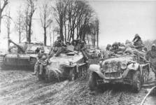 Eastern front 1943 parts of 1 SS-Panzergrenadier-Division Leibstandarte Adolf Hitler