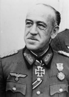 General Esteban Infantes as an officer of the Wehrmacht, 1943.