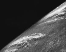 The first photo from space was taken from a V-2 launched by US scientists on 24 October 1946.
