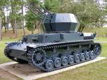 The Wirbelwind armored anti-aircraft vehicle.