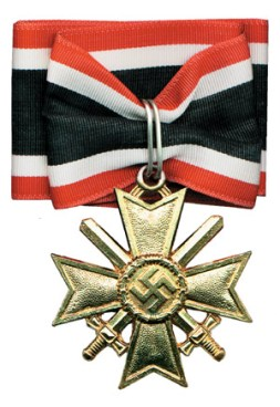 War Merit Cross with Swords
