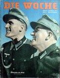 """Gebirgsjäger on the cover of """"Die Woche"""" magazine."""