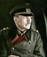Generaloberst Heinz Guderian sitting on a plane.