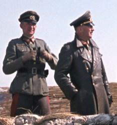 Generalleutnant Sigfrid Macholz and Generaloberst Heinrich von Vietinghoff.