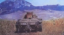 Panzerkampfwagen III of Heeresgruppe Süd (Army Group South) advances through the Kuban Steppe on the Caucasus Mountains during Operation Blue (Unternehmen Blau/Fall Blau).