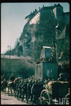 German Troops in Kufstein, Vienna, during the Austrian Anschluss.